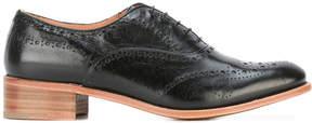Church's chunky heel brogue shoes