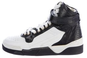 Givenchy Lizard High-Top Sneakers