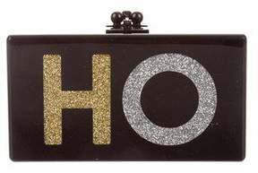 Edie Parker Acrylic Box Clutch