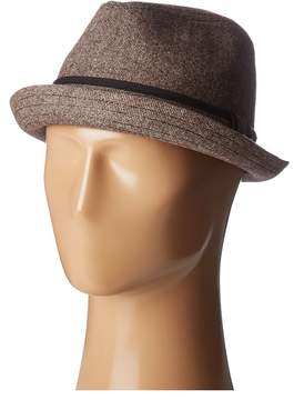 San Diego Hat Company SDH9446 Tweed Porkpie Hat Caps