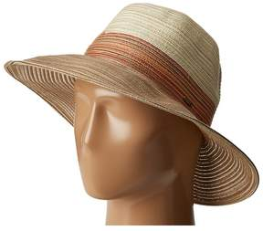Scala Tri-Tone Poly Braid Safari Safari Hats