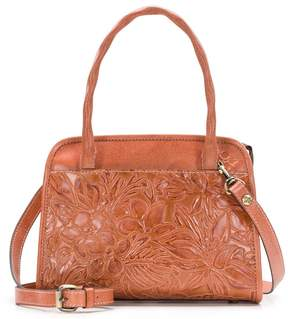 Patricia Nash Spring Floral Tooled Collection Paris Satchel