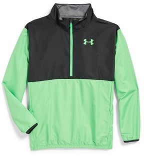 Under Armour Boy's Train To Game Half Zip Pullover