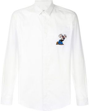 Iceberg patch embroidered shirt