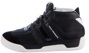 Y-3 Courtside High-Top Sneakers