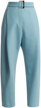 Ellery Kool Aid waist-belt stretch-canvas trousers