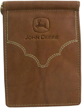Asstd National Brand John Deere Front Pocket Leather Wallet