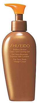 Shiseido Brilliant Bronze Quick Self-Tanning Gel For Face/Body