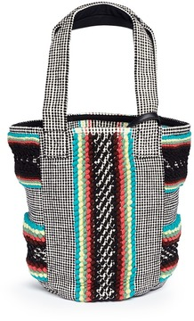 Rebecca Minkoff 'Alhombra' ethnic stripe tweed tote - ONE COLOR - STYLE