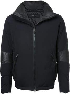 Roar embellished zip-up jacket