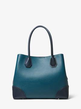 MICHAEL Michael Kors Mercer Gallery Medium Color-Block Leather Satchel