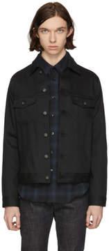 Naked & Famous Denim Denim Black Power Stretch Denim Jacket
