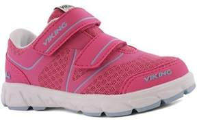 Viking Sportskor, Hel, Dark Pink/Light Blue