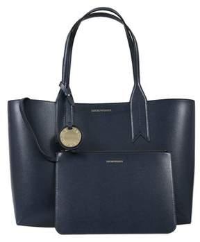Emporio Armani Y3d081 Yh15a 88293 Midnight Blue/black Tote Handbag.