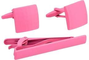 Stacy Adams Powder Coated Cuff Link & Tie Bar Set