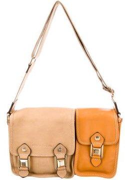 Sonia Rykiel Leather Messenger Bag