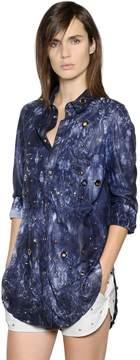 Drome Studs & Eyelets Nappa Leather Shirt