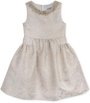 Rare Editions Embellished Neck Special Occassion Dress, Little Girls (4-6X)