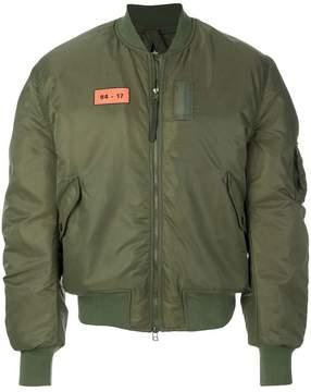 MHI zipped bomber jacket
