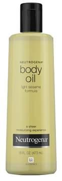 Neutrogena® Body Oil - Light Sesame Formula - Sesame Oil - 16 fl oz