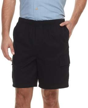 Croft & Barrow Men's Classic-Fit Full-Elastic Twill Cargo Shorts