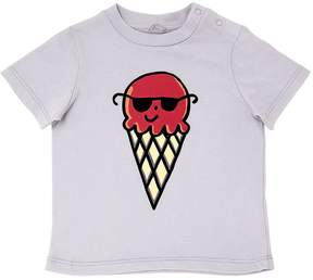 Stella McCartney Ice Cream Print Cotton Jersey T-Shirt