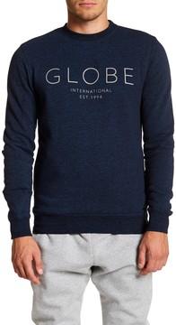 Globe Logo Crew Neck Long Sleeve Sweater