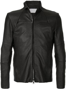 ESTNATION panel stitched jacket