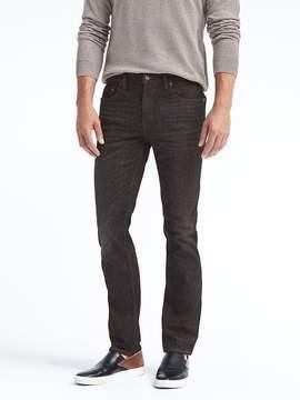 Banana Republic Slim Black Wash Jean
