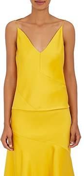 CALVIN KLEIN 205W39NYC Women's Silk-Wool Sleeveless Blouse