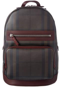 Burberry Nova Check Print Backpack