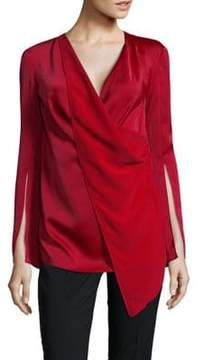C/Meo CMEO COLLECTIVE Draped V-Neck Top