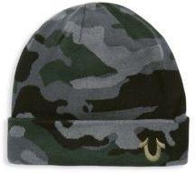 True Religion Camouflage Cotton Watch Cap