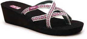 Teva Women's New Mandalyn Ola Geometric Wedge Sandal
