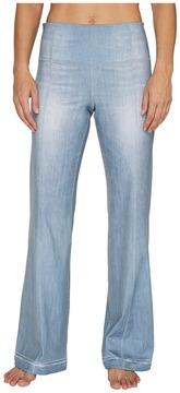 Lucy Indigo Flare Pants Women's Casual Pants