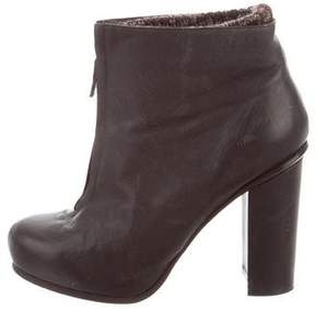 Dolce Vita Leather Ankle Boots