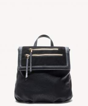 Sole Society Chele Backpack Genuine Suede Mix Backpack