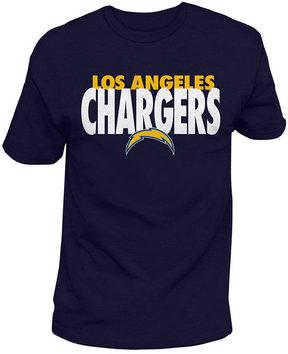 Authentic Nfl Apparel Men's Los Angeles Chargers Stunt Blitz T-Shirt
