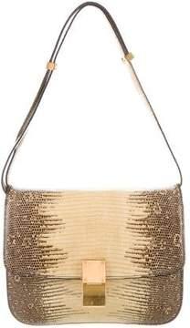 Celine Lizard Medium Box Bag