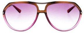 Miu Miu Gradient Aviator Sunglasses