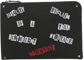 Valentino Punk Poem Document Holder