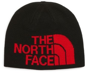 The North Face Boy's Anders Reversible Beanie - Black