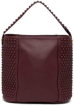 Deux Lux Melrose Studded Hobo Bag