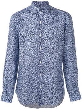 Barba patterned shirt