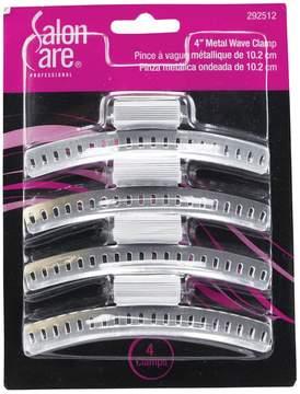Salon Care 4 Inch Metal Wave Clamp