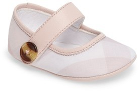 Burberry Infant Girl's 'Baldwyn' Mary Jane
