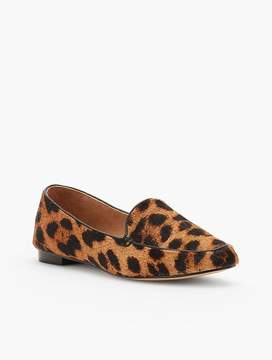 Talbots Ryan Leopard Haircalf Flats