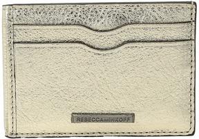 Rebecca Minkoff Metro Card Case Handbags - LIGHT GOLD - STYLE
