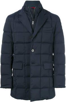 Fay layered padded coat