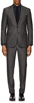 Ralph Lauren Purple Label Men's Anthony Pin-Dot Wool Two-Button Suit